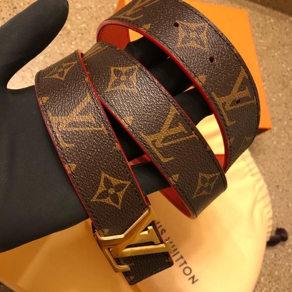 Louis Vuitton Accessories - LV INITIALES 25MM REVERSIBLE BELT